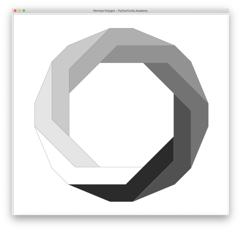 Penrose Polygons with Python Turtle – Learn Programming with Python