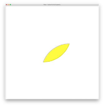 Tutorial: Drawing a Flower Petal or a Leaf with Python