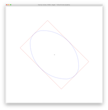 Oval by Bounding Box with Python Turtle – Learn Programming