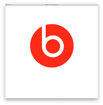 Beats Logo with Python Turtle – Learn Programming with Python and Turtle